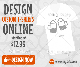 336x280 T-shirt Design Sales Banner
