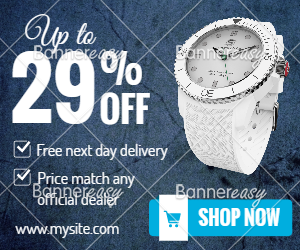 300x250 Watch Discount Banner
