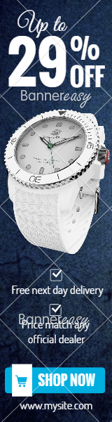 160x600 Watch Discount Banner
