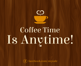 Cafe Facebook Post Template