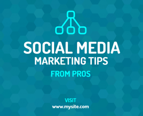 Social Media Marketing Facebook Post Template