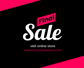 Online Store Sales Facebook Post Template