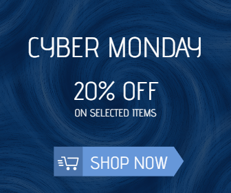 Free Cyber Monday Sales Banner Template